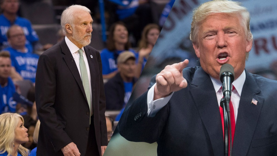 """A Soulless Coward."" Spurs Head Coach, Gregg Popovich, Rips Trump."